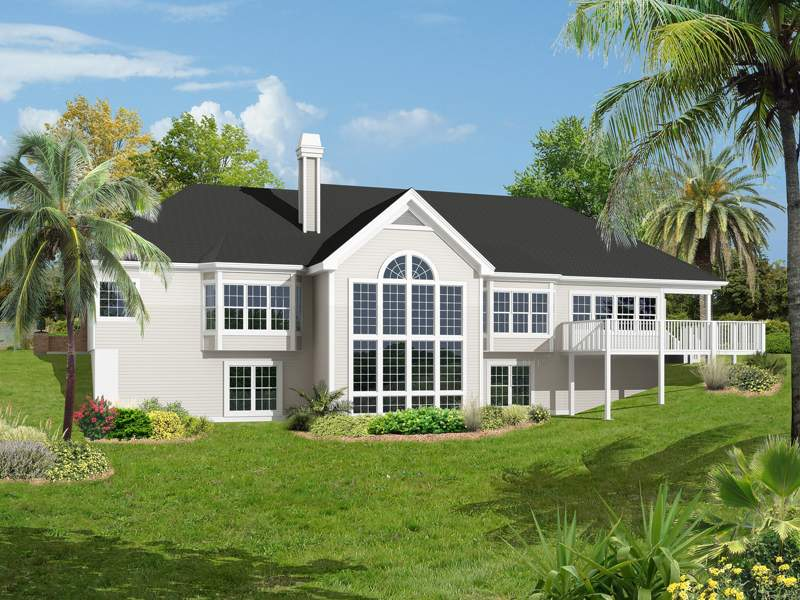 Ranch House Plan Color Plans
