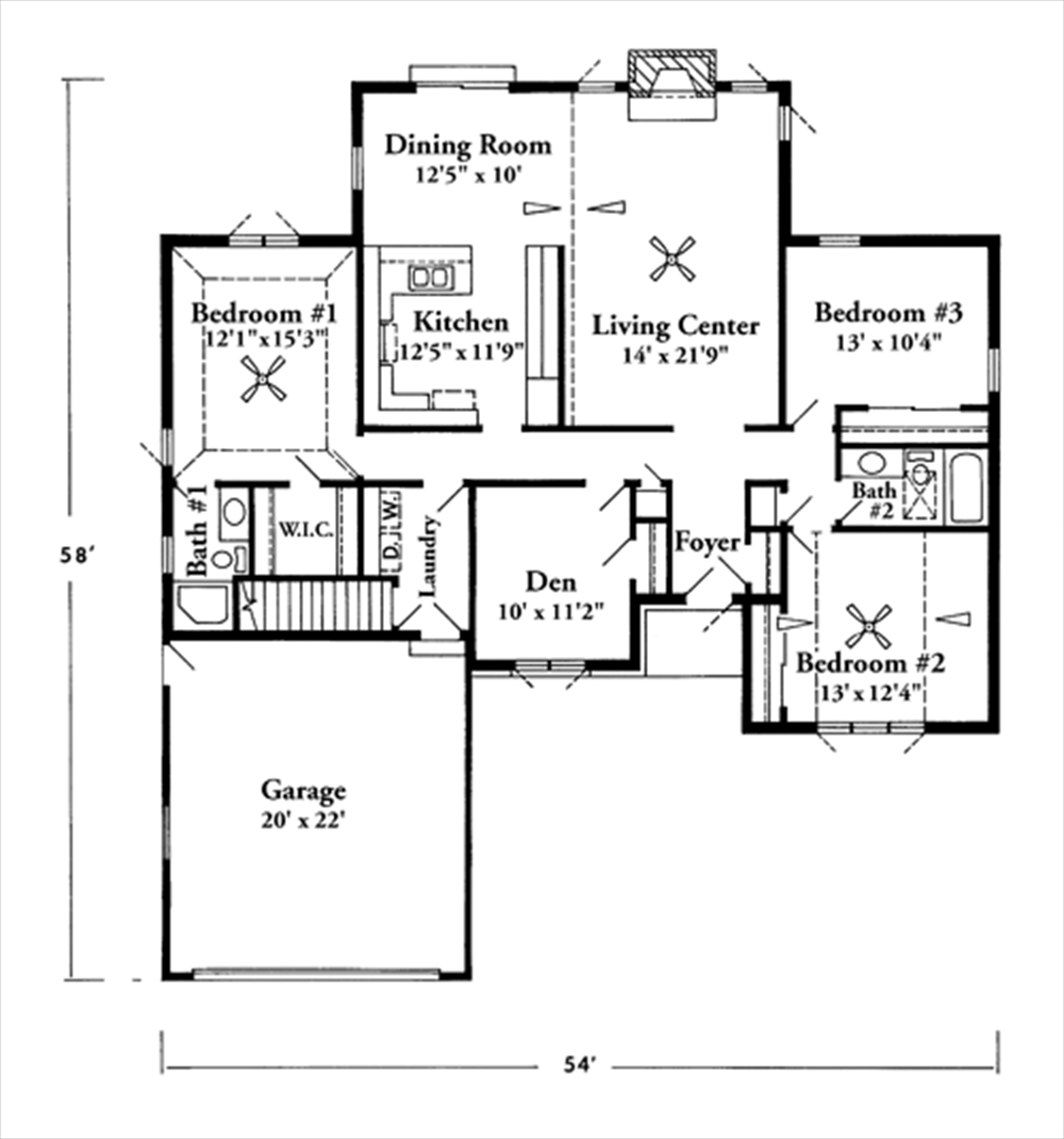 Ranch House Plans Under Square Feet Home Deco