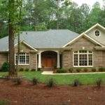 Ranch Rambler Style House Home