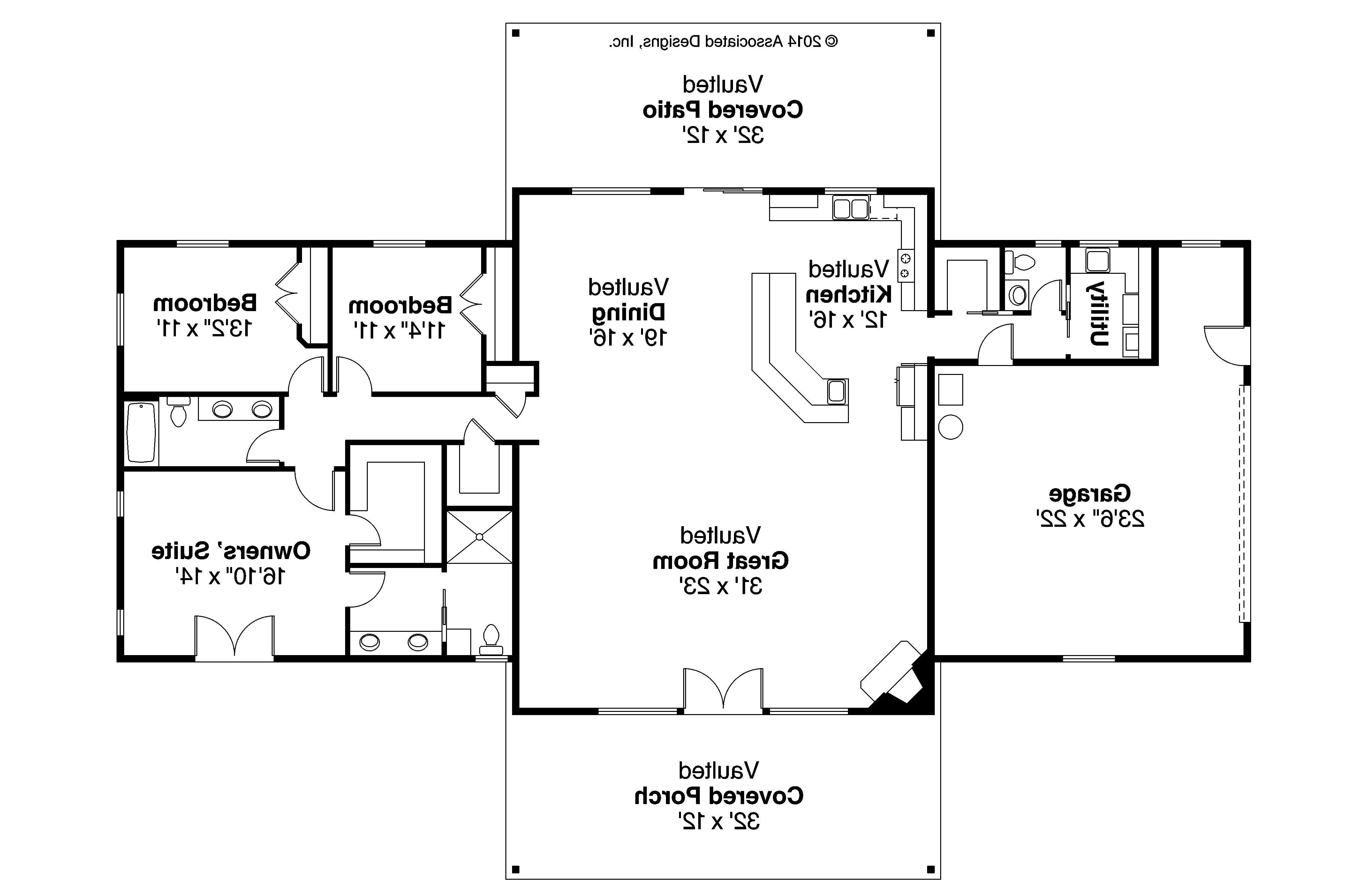 Ranch Style House Plans Designs Plan Anacortes