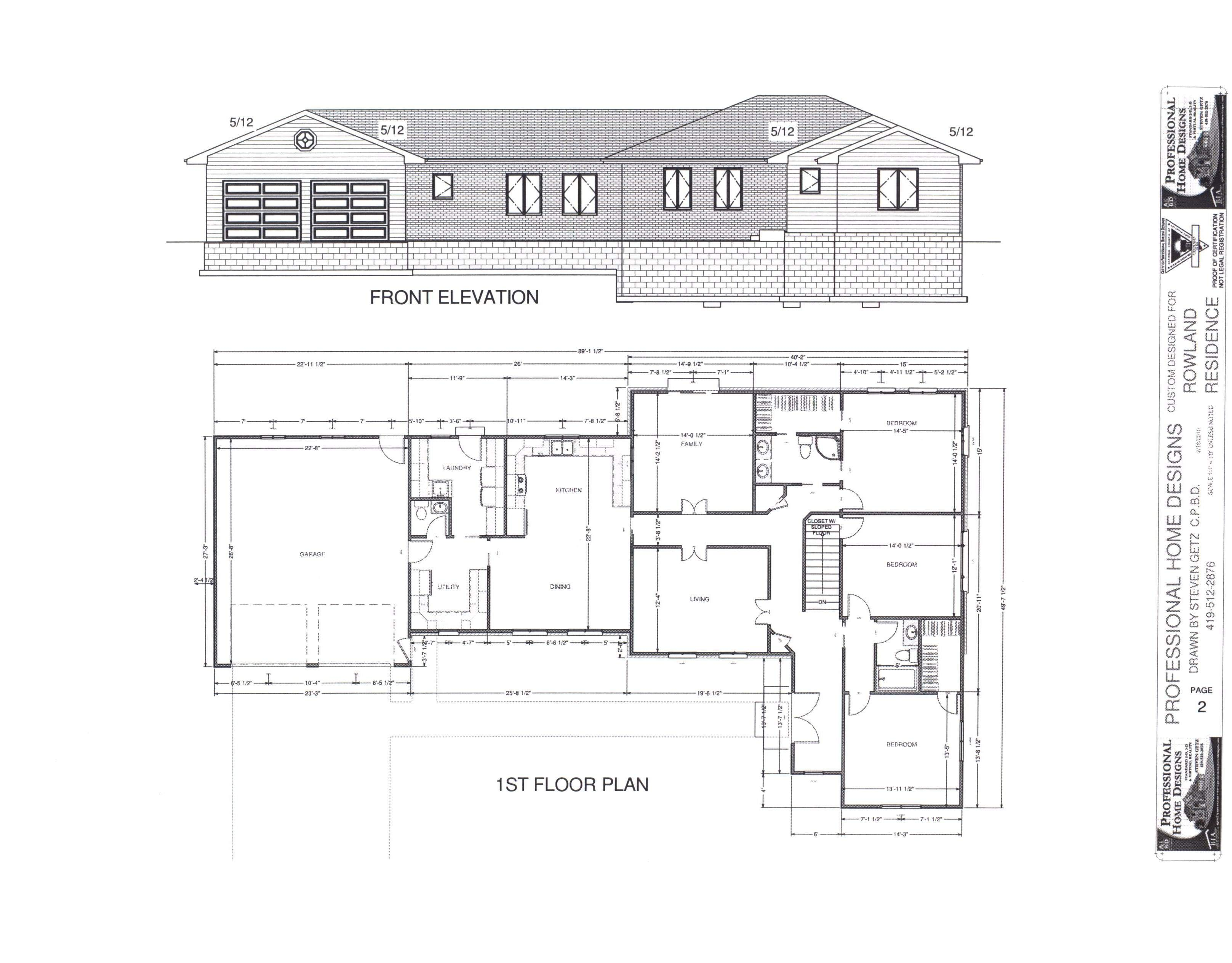 Rectangle House Plans Home Design Ideas