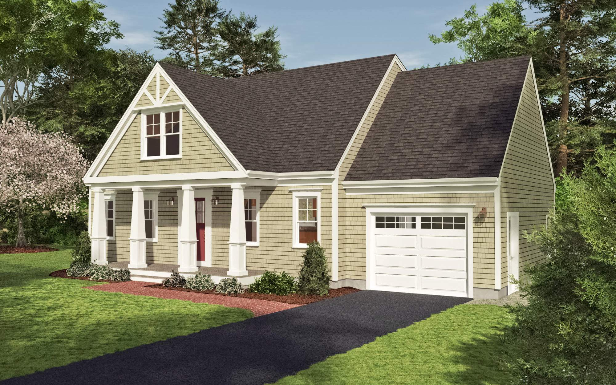 Reef Cape Cod Builders Craftsman Cottage Home Plan Collections