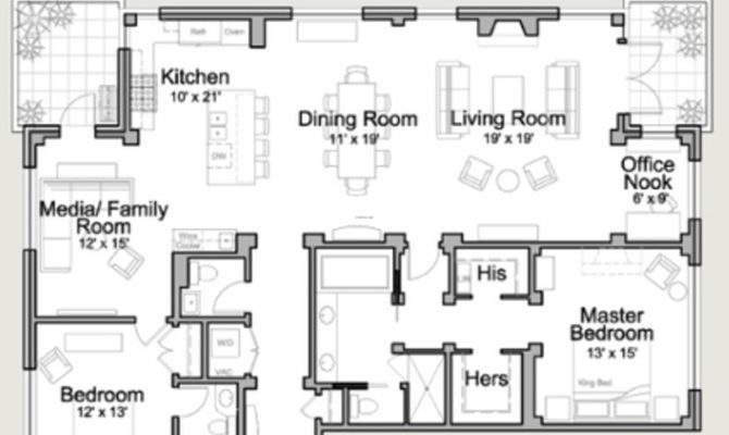Residential House Plans Floor