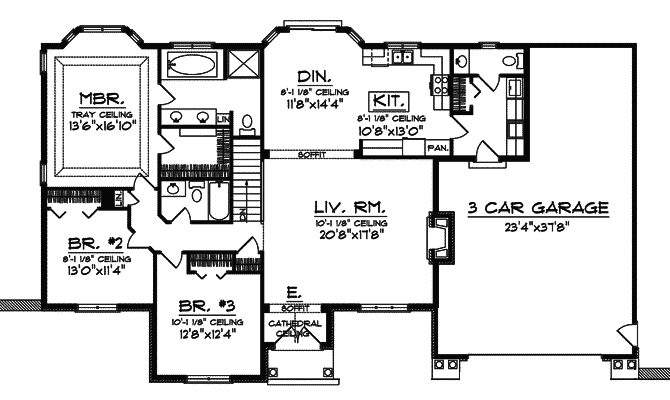 Rittenour Rustic Style Home Plan House Plans More