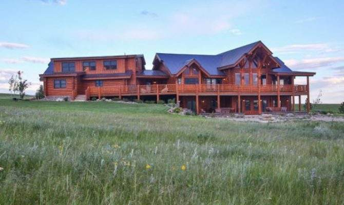 Rock Ride Ranch House Plans Montana Rustic Mountain
