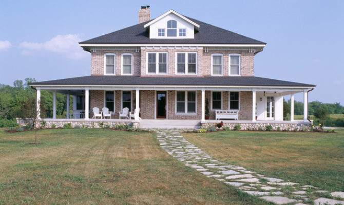 Rural Homestead Exterior Traditional