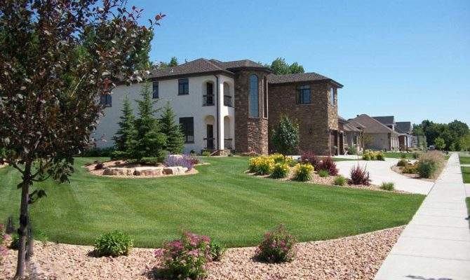 Rural Landscaping Ideas Front Yard Landscape Design