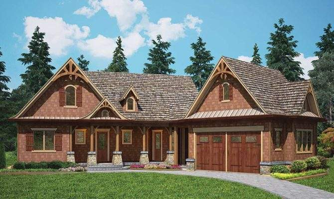 Rustic Cottage Home Plan Architectural Designs