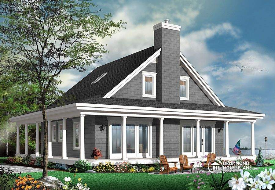 Rustic House Plan Drummond Plans