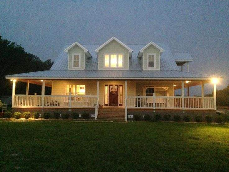 Rustic House Plans Wrap Around Porches Our Home