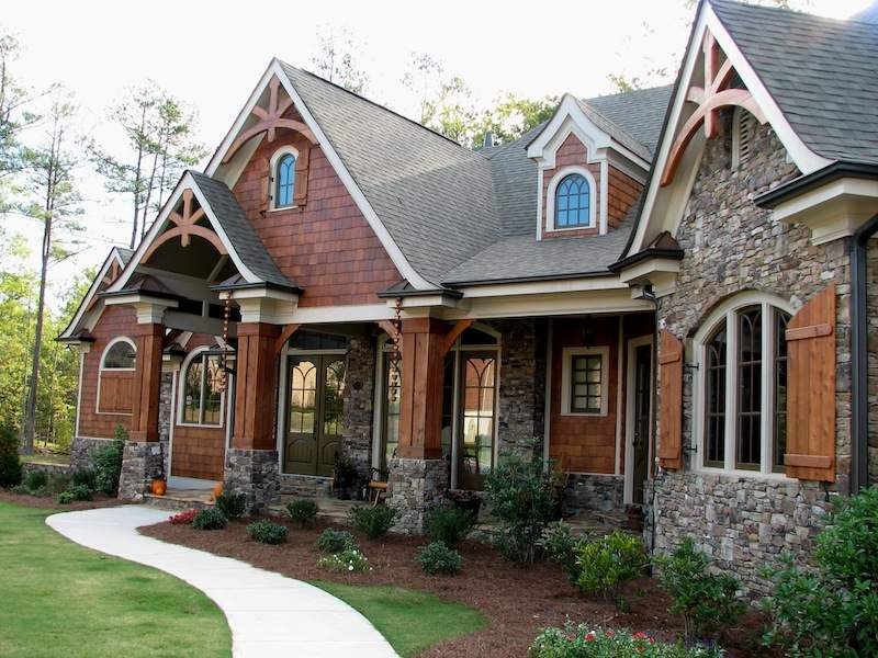 Rustic Lodge Style House Plans Log Cabin