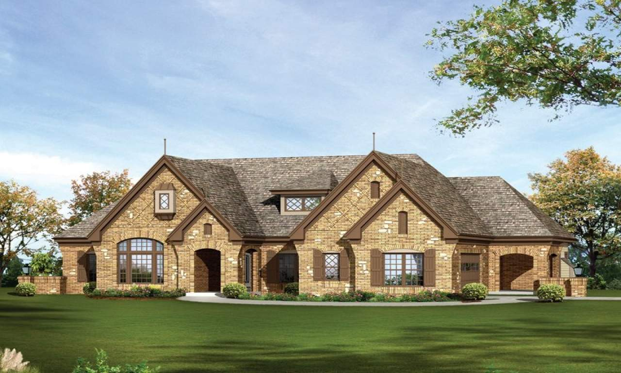 Rustic One Story Country House Plans Idea Design