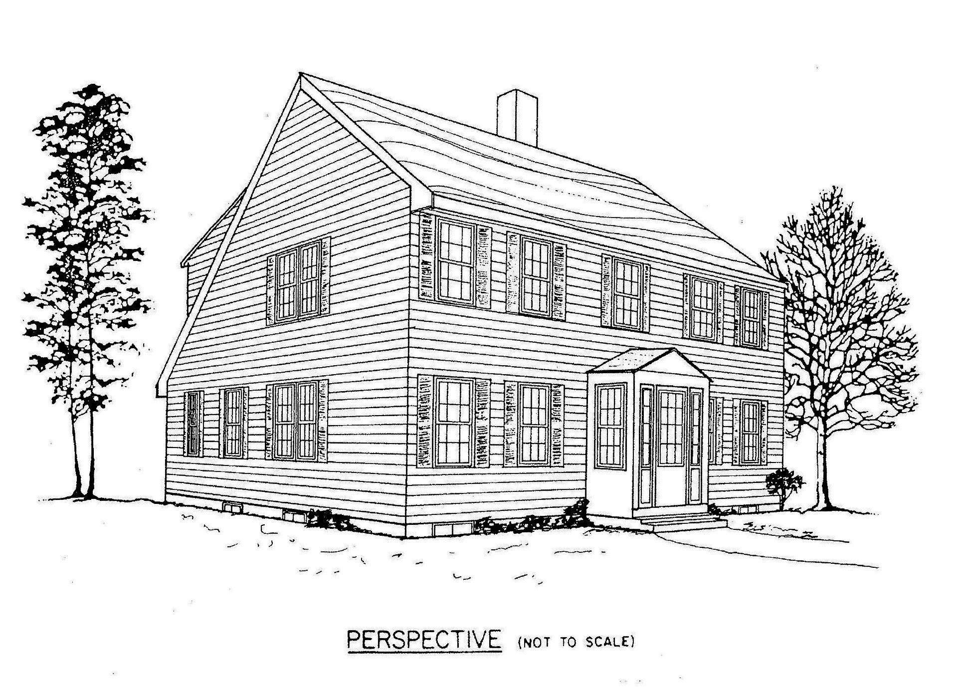 Saltbox House Plans Floor