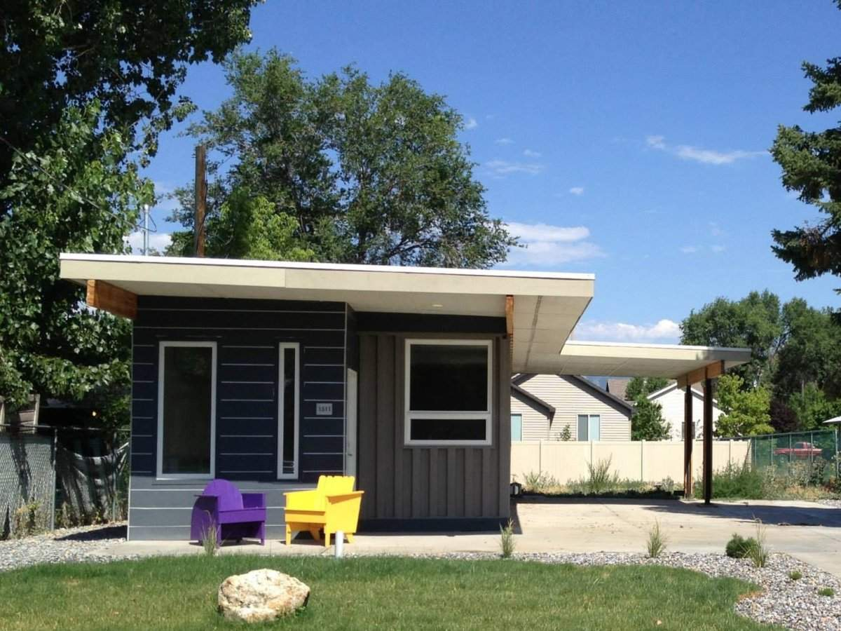 Sarah House Affordable Green Container Home Small Bliss