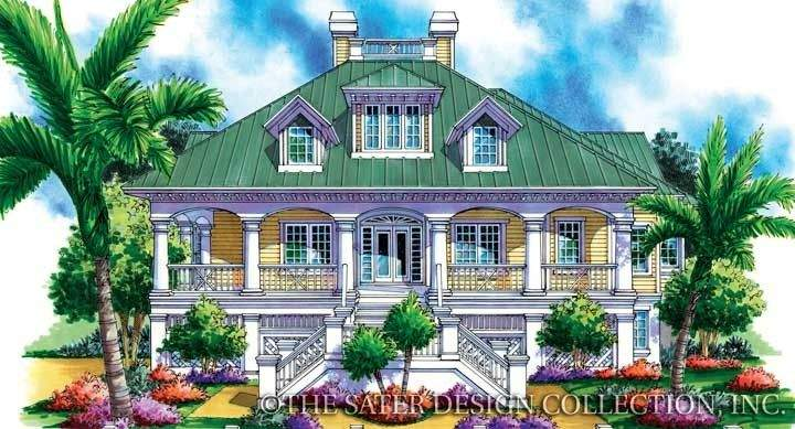 Sater Design Montserrat House Plan Our Cottage Home