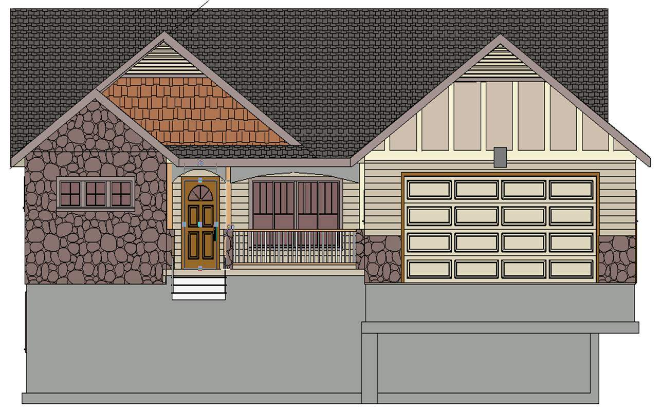 Sds Contractor Spec House Plan Bdrm Bath Main