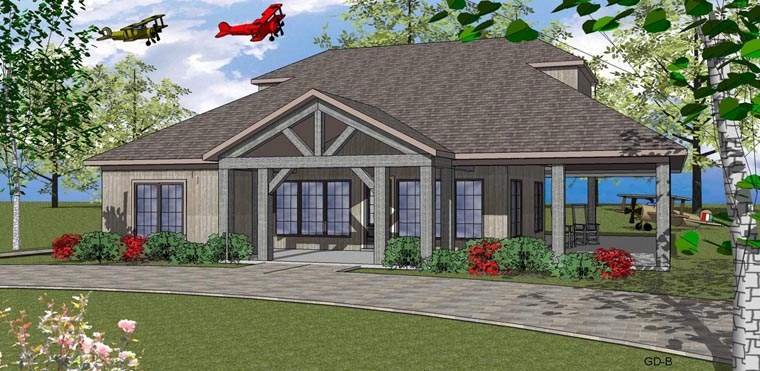 Seaside House Plan Chp Coolhouseplans