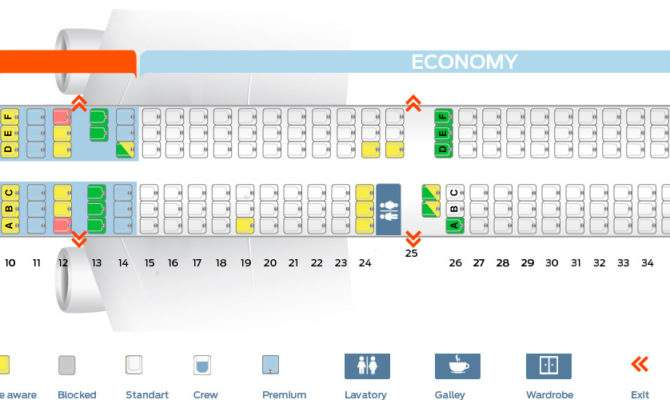 Seat Map Airbus Delta Airlines Best Seats