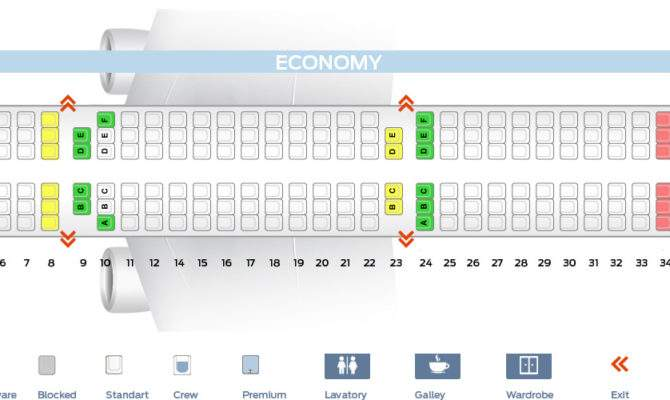 Seat Map Airbus Turkish Airlines Best Seats