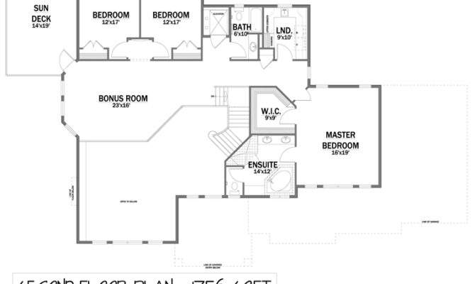 Second Floor Plan Traditional Addition