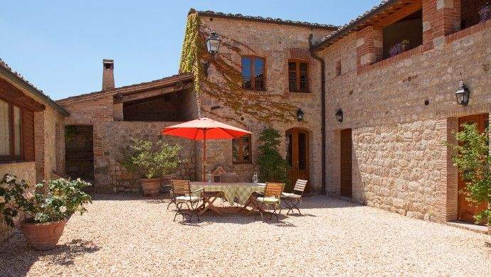 Serene Tuscan Courtyard Renov Start Scratch Pinterest