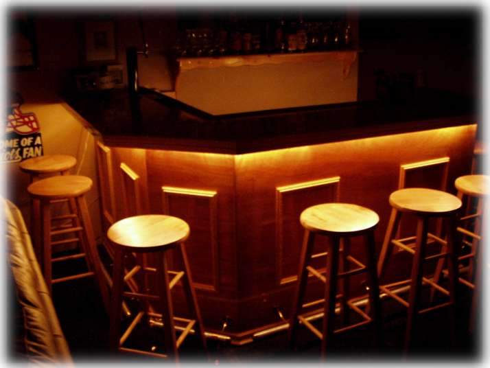 Shaped Bar Plans Furnitureplans