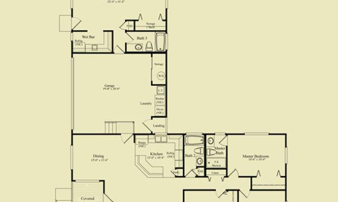 Shaped Bedroom House Plans Homes Floor