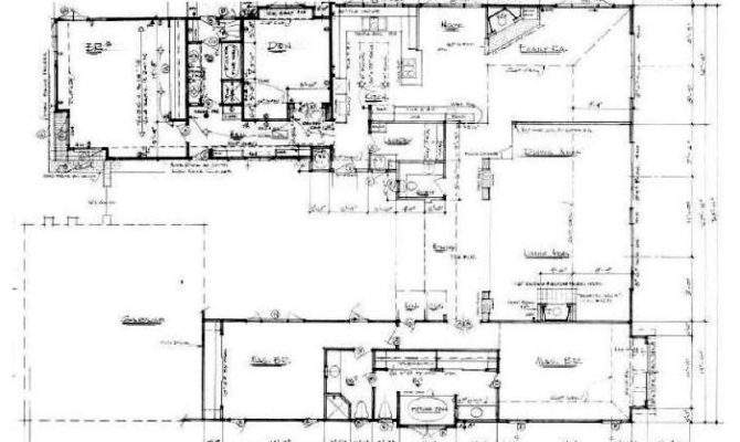 Shaped Ranch House Plans Car