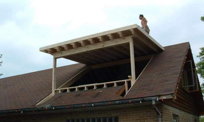 Shed Dormer Flashing Lights