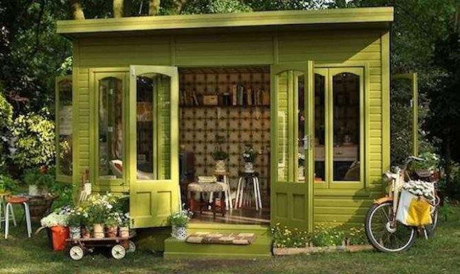 Shed Ideas Designs Backyard Office Guest Bed