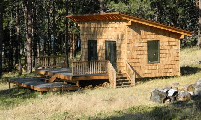 Shed Roof Cabin Design Car Tuning