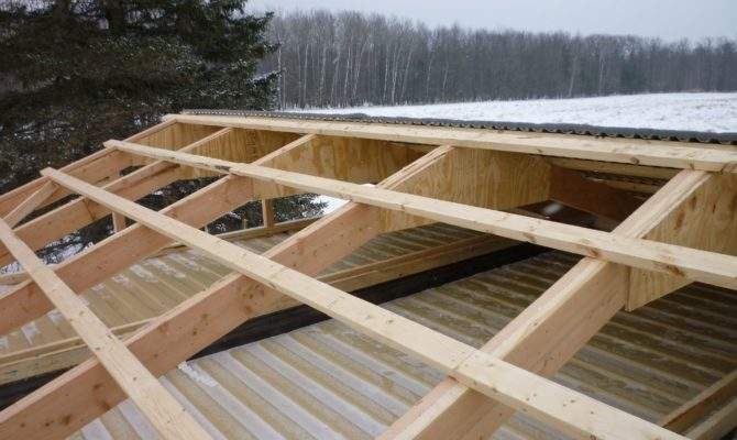 Shed Roof Cabin Plans Read Post