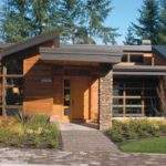 Shed Roof Modern House Plans Post Howtodiy