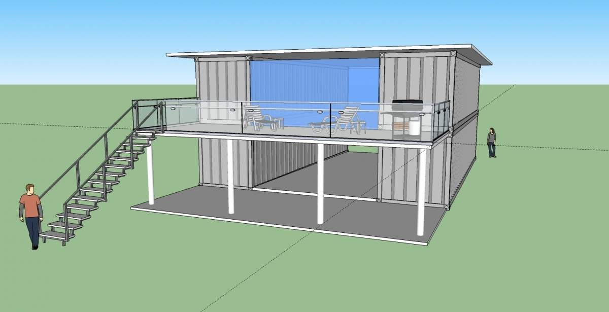 Shipping Container Home Plans Cost House