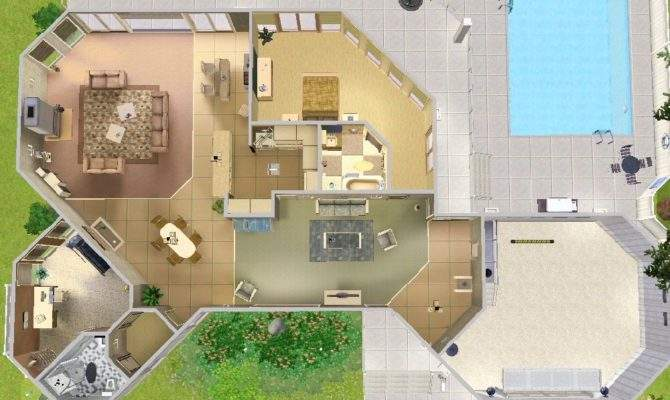 Sim House Layouts Home Design