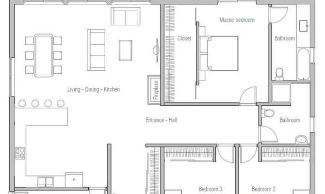 Simple Affordable House Plans Brick Home Deco