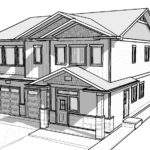 Simple Car Drawings House Sketch