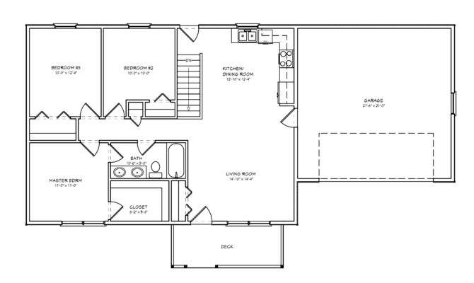 Simple Floor Plan Bedroom House Plans
