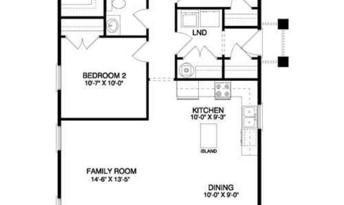 Simple Floor Plans Ranch Style Small Home