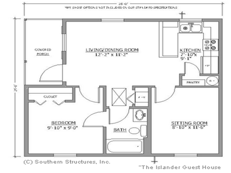 Simple Floor Plans Small House Houses