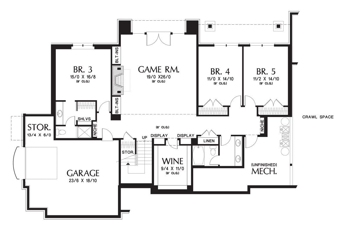 Simple Floor Plans Small House Lower Plan