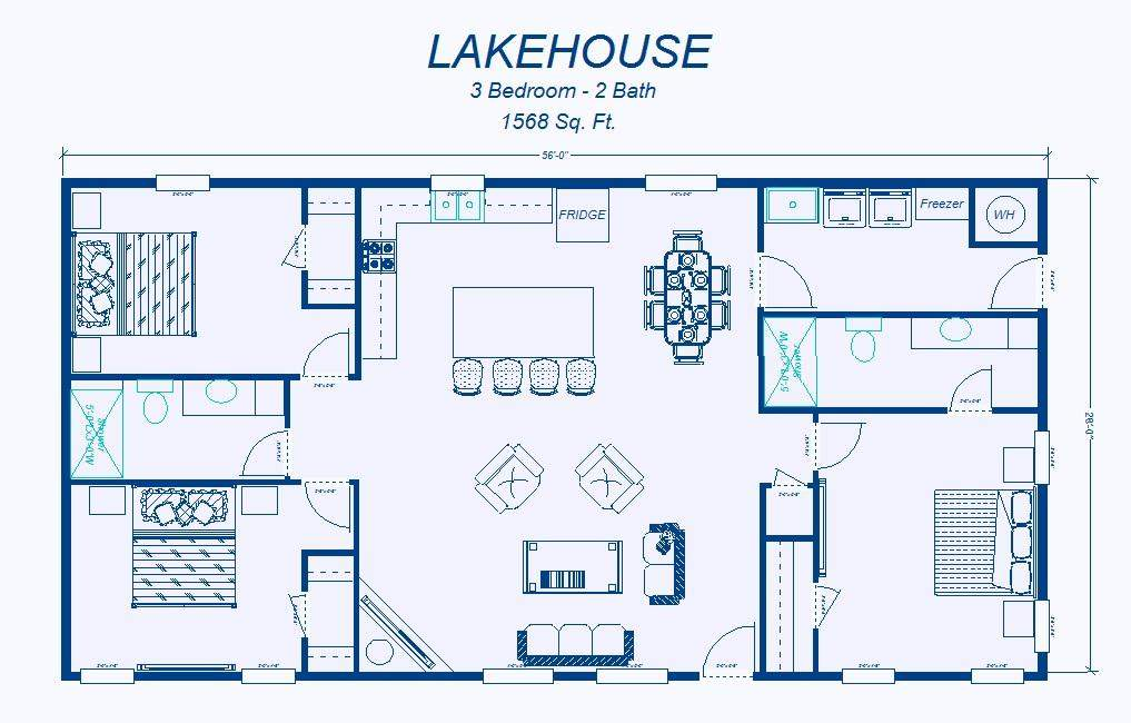 Simple House Plan Withal Exquisite Floor Plans