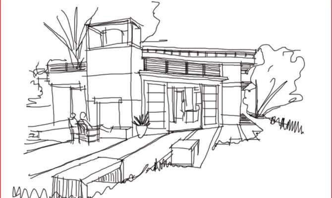 Simple House Sketches Inspiration Sketch Day