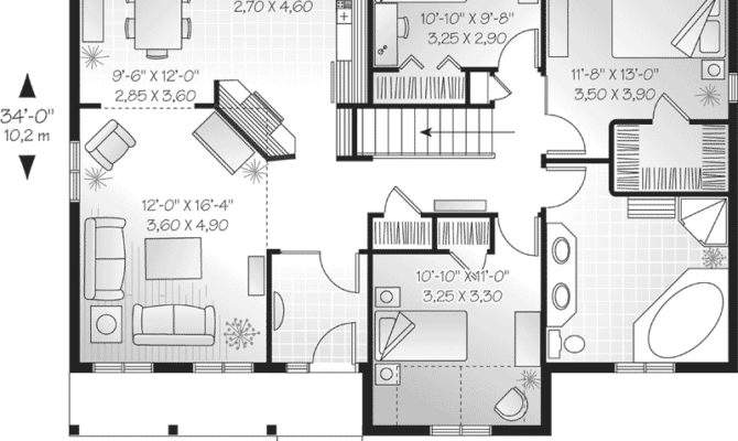 Simple One Story Floor Plans Submited Pic Fly