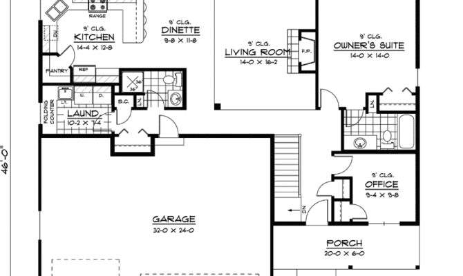 Simple One Story House Design