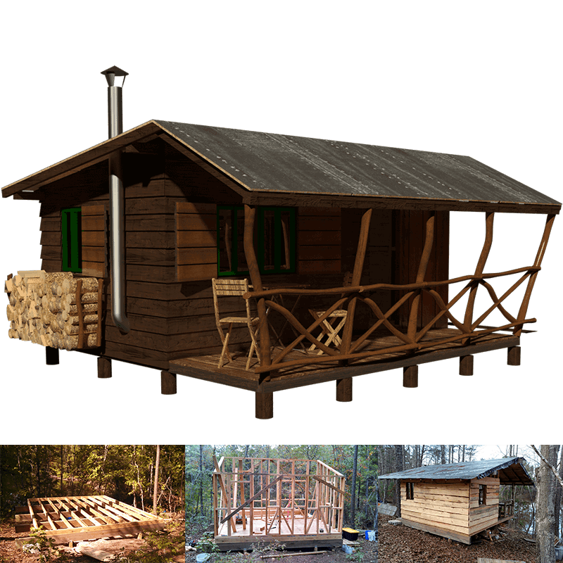 Simple Small Cabin Plans