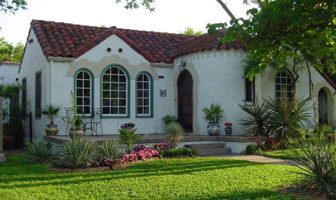 Simple Spanish Style House Plans Design