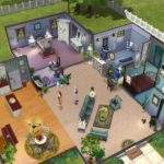 Sims Floor Plan House Ideas Pinterest