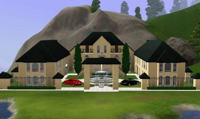 Sims House Ideas Mansion Home