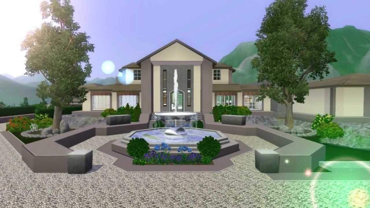 Sims Mansion Design Ranch Custom Content Doovi